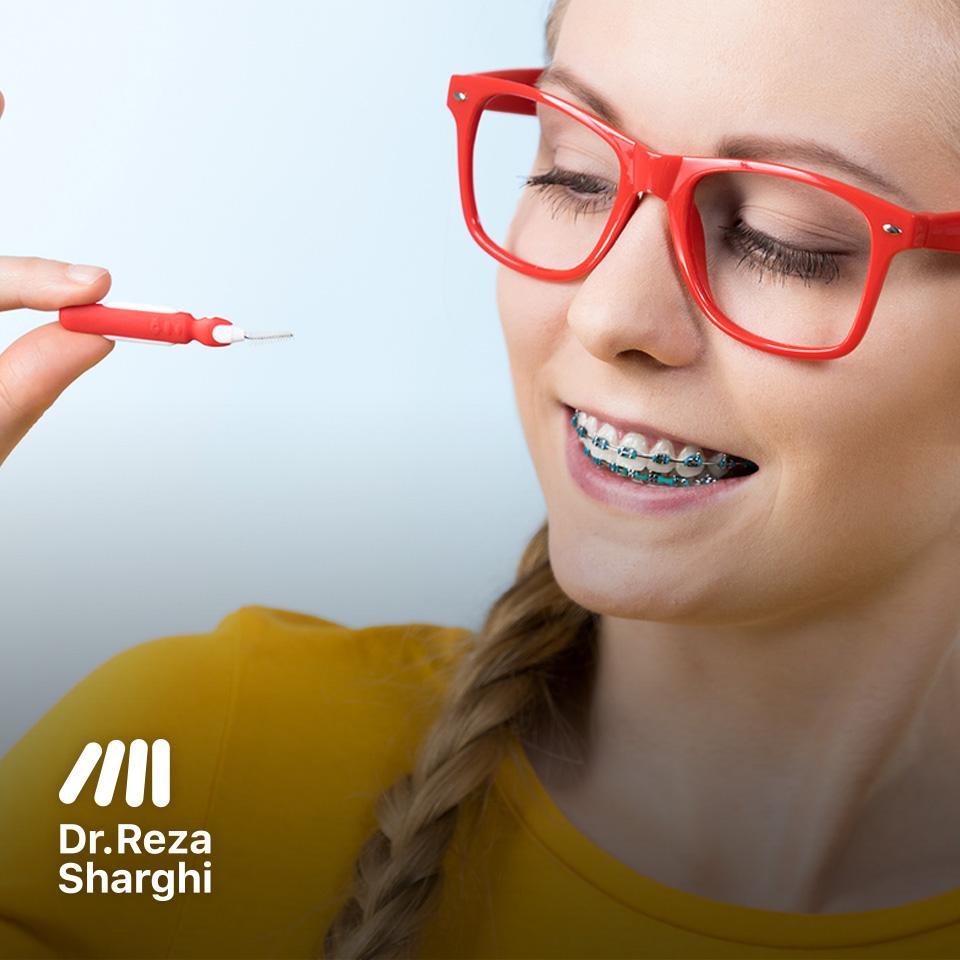 متخصص ارتودنسی - بهداشت دهانی در طی روند درمانی ارتودنسی و اهمیت آن